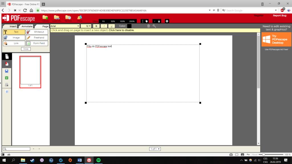 Obrázek: Úprava PDF online a zdarma: Jak upravit PDF soubory v prohlížeči?