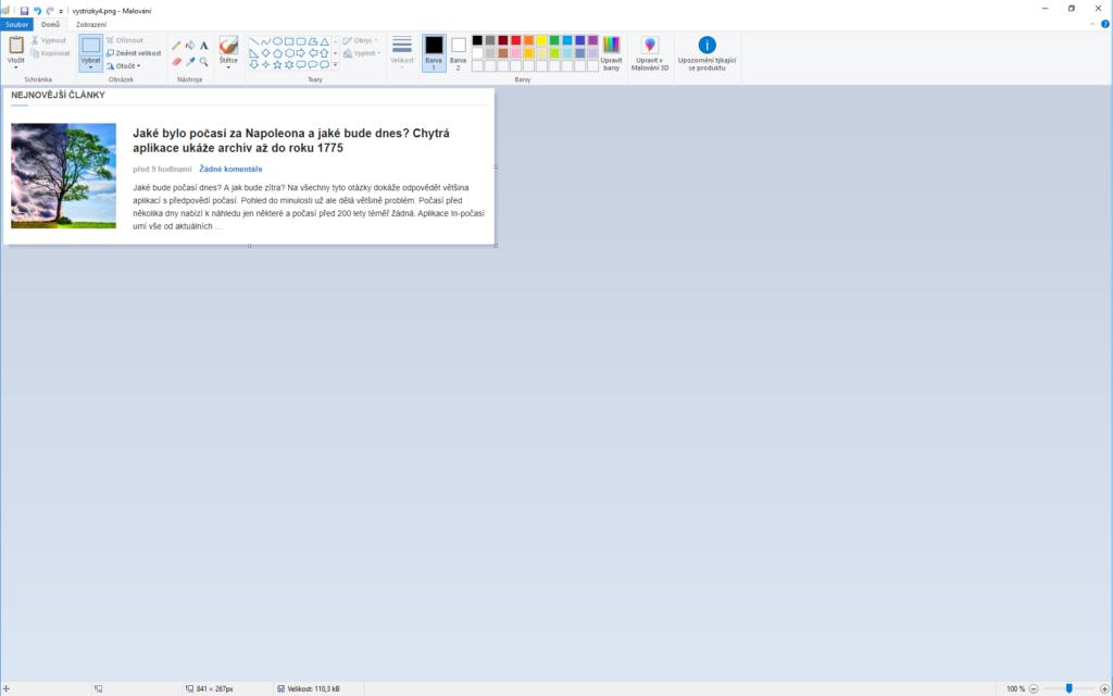 Obrázek: Jak udělat snímek obrazovky ve Windows 10 a na mobilu, rychle a prakticky