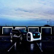 Obrázek: Když automobily parkují automobily: Samořiditelní roboti se na letištích postarají o vozidla pasažérů