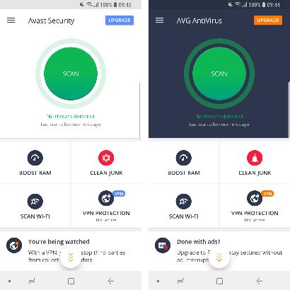 Obrázek: Dvě třetiny antivirových programů pro Android neodhalí ani 30 % virů z minulého roku. Uspěly velké firmy