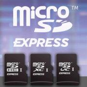 Obrázek: Paměťové karty rychlé jako pevné disky: MicroSD Express jsou 10x rychlejší než běžné microSD