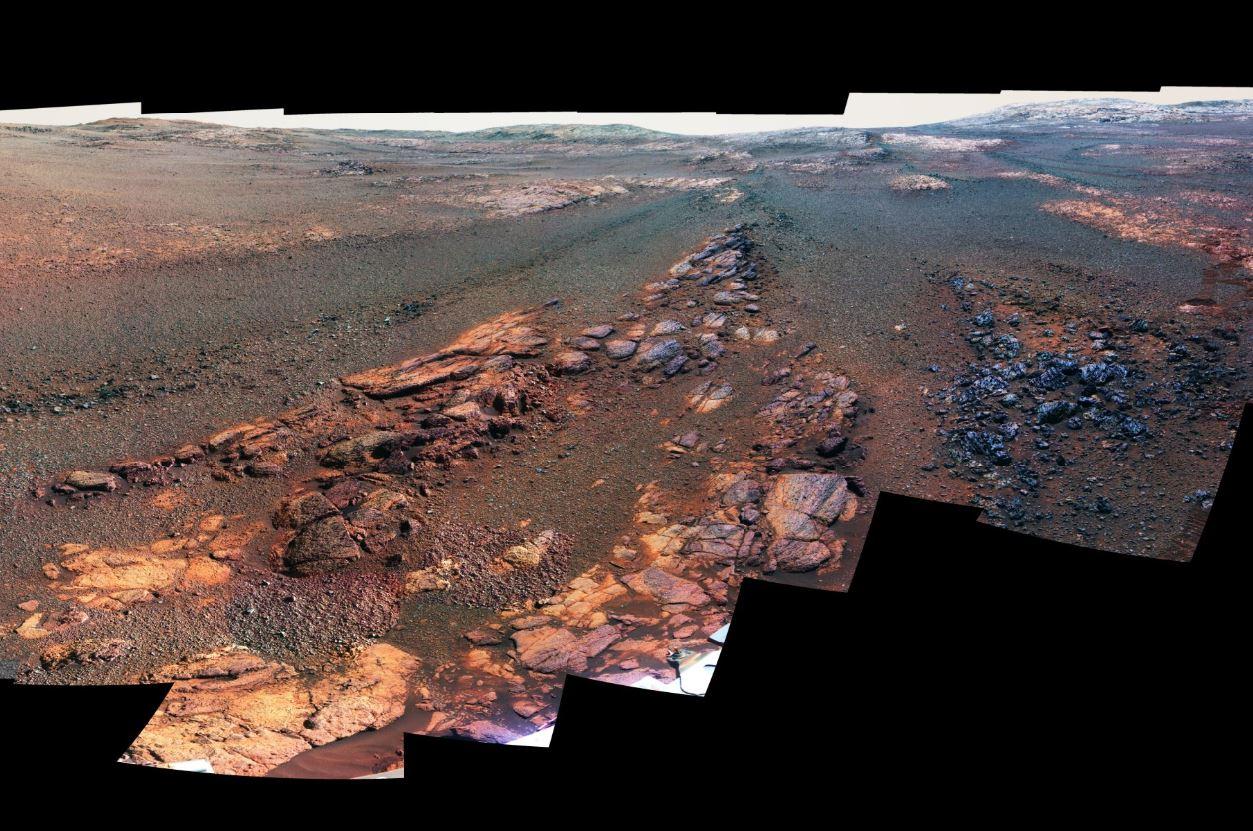 Obrázek: NASA zveřejnila poslední snímek Marsu z vozítka Opportunity, další už nikdy nepořídí