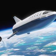 Obrázek: SpaceX poprvé zažehlo motor své vesmírné lodi Starship: má dostat lidi na Mars