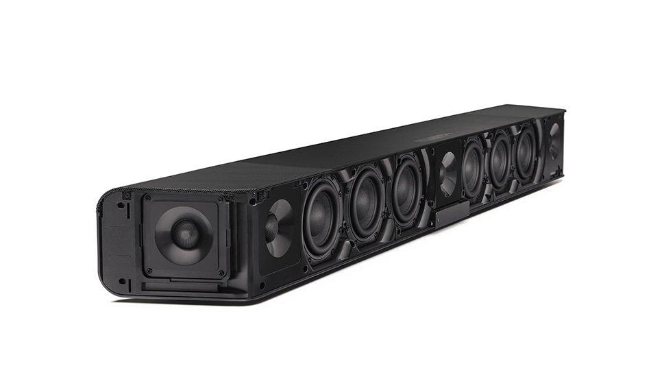 Obrázek: Na vlastní uši: Sennheiser AMBEO Soundbar má 13 reproduktorů, které vás obklopí zvukem