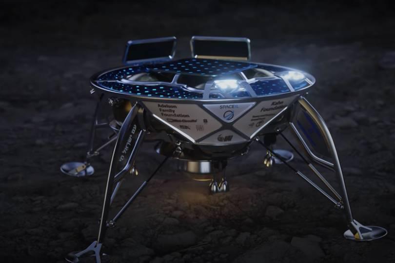 Obrázek: Neúspěšné přistání: Izraelská sonda Beresheet narazila do povrchu Měsíce