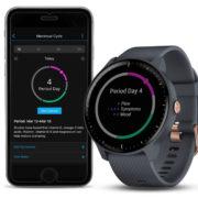Obrázek: Chytré hodinky od Garminu umožní zaznamenávat menstruační cyklus, firma cílí na ženy