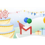 Obrázek: Gmail slaví 15 let: Bez pozvánky se dříve nešlo zaregistrovat, nově umí naplánovat automatické odeslání zprávy