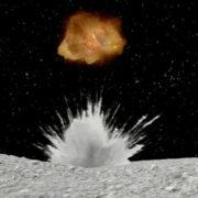 Obrázek: Malý Armageddon: Japonci jako první na světě vytvořili kráter na asteroidu