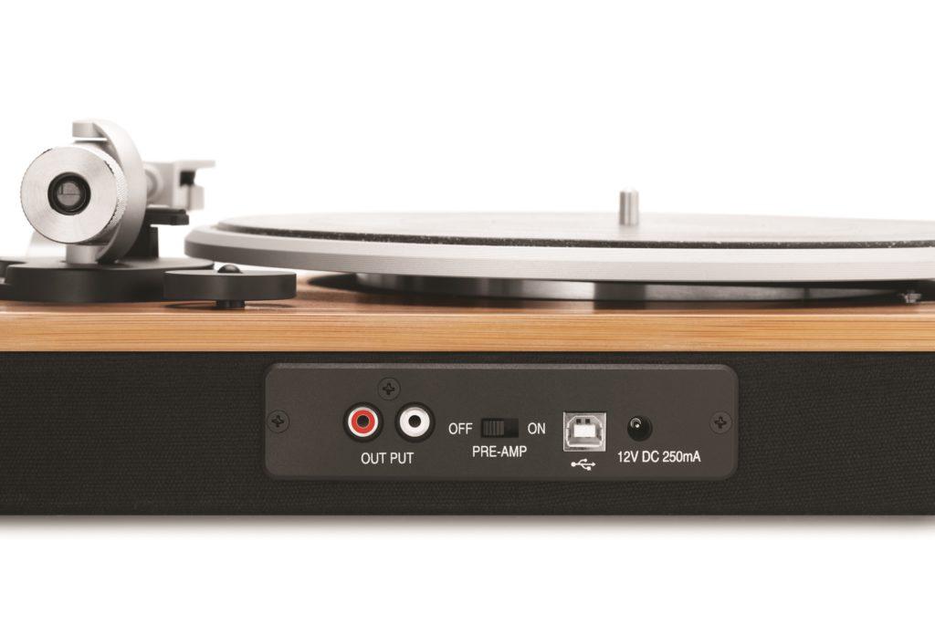 Obrázek: Marley Stir It Up je dřevěný retro gramofon vytvořený na počest Boba Marleyho