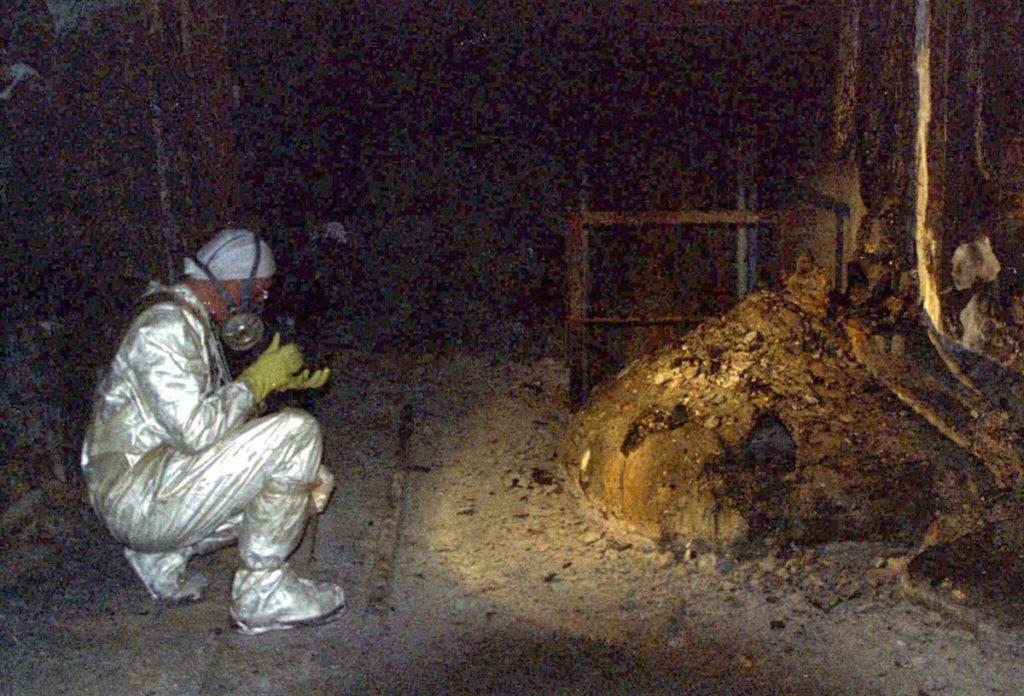 Obrázek: Černobylská Sloní noha: Stačí stát 3 minuty poblíž a smrt vás nemine