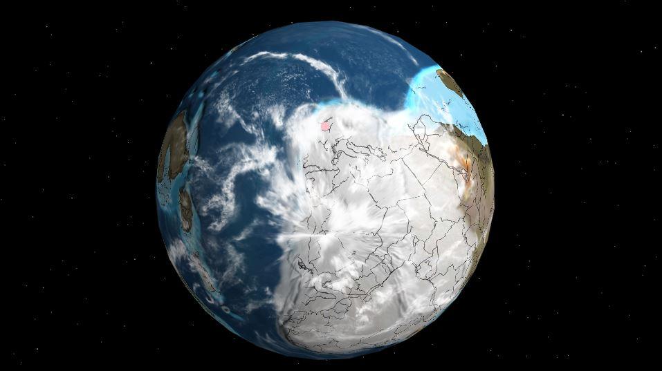 Obrázek: Česká republika měla moře a bývala nedaleko jižního pólu