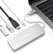 Obrázek: Chytrý adaptér jako první na světě nahradí externí USB-C disk a přidá zařízení chybějící porty