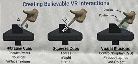 Obrázek: VR náramek slibuje realističtější zážitky z virtuální reality