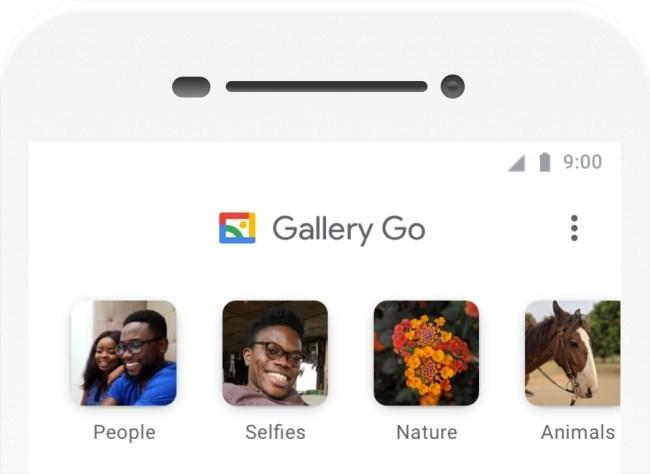 Obrázek: Alternativa k Fotky Google: Gallery Go je rychlou fotogalerií pro pomalé telefony