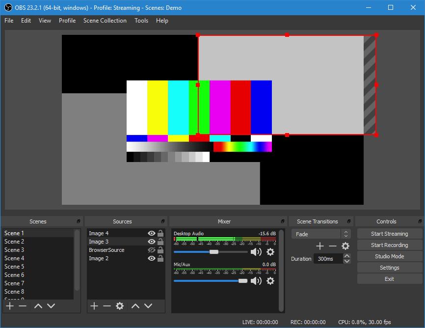 S OBS Studio můžete začít rychle a zdarma streamovat na internetu. Výsledky jsou na velmi dobré úrovni.