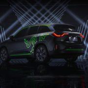 Obrázek: Razer představil herní vůz s podsvícením Chroma. To není vtip, čtete správně