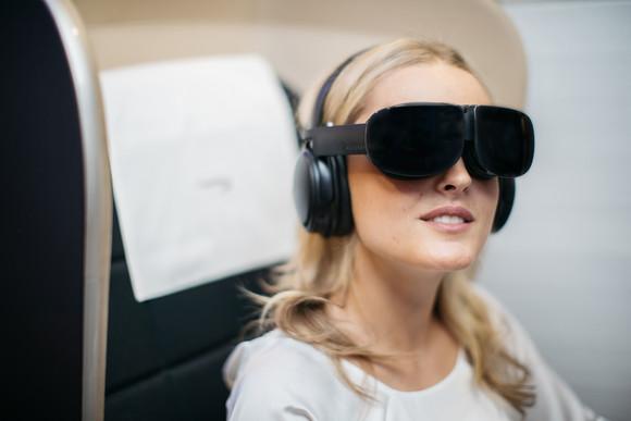 Obrázek: Virtuální realita vletadle: Zábava na dlouhé lety nebo nápad, který se neosvědčí?