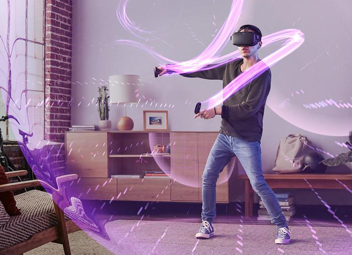 Obrázek: Wireality: Lepší haptická odezva ve VR od vědců z Carnegie Mellon