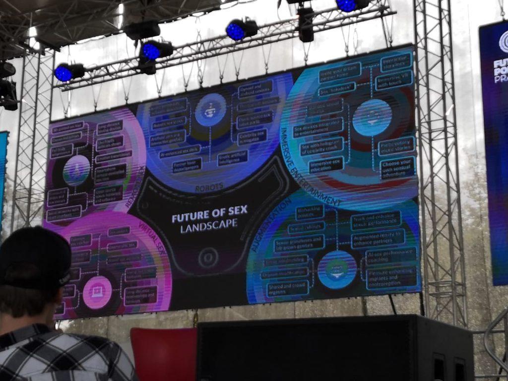 Obrázek: Future Port Prague 2019: Svátek futurismu ukázal budoucnost vtechnologiích, kráse, AI i sexu