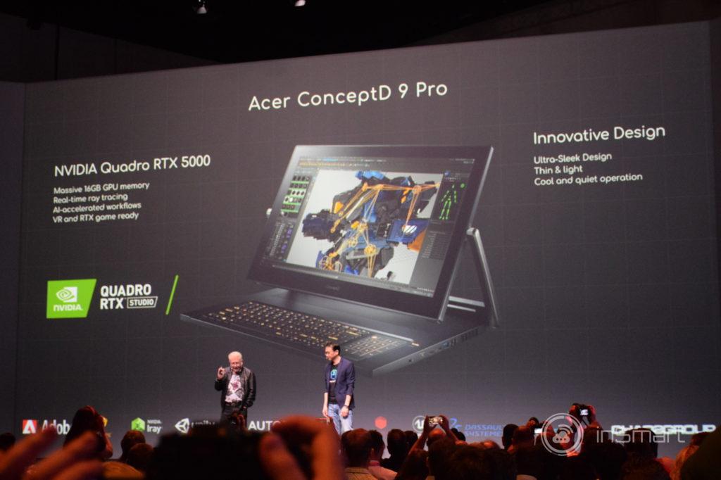 Obrázek: Projektor s vertikální i horizontální projekcí? Acer představil novinky na IFA 2019