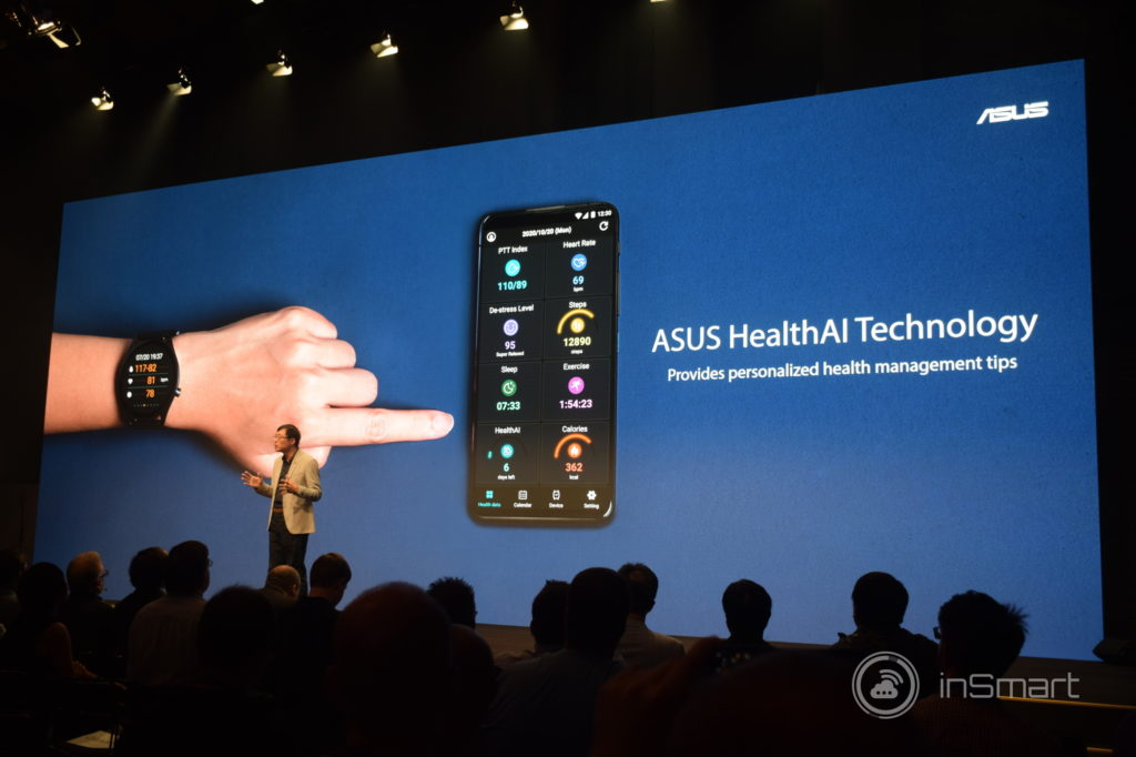 Obrázek: Asus představil chytré hodinky s EKG senzorem a notebook vážící 880 gramů
