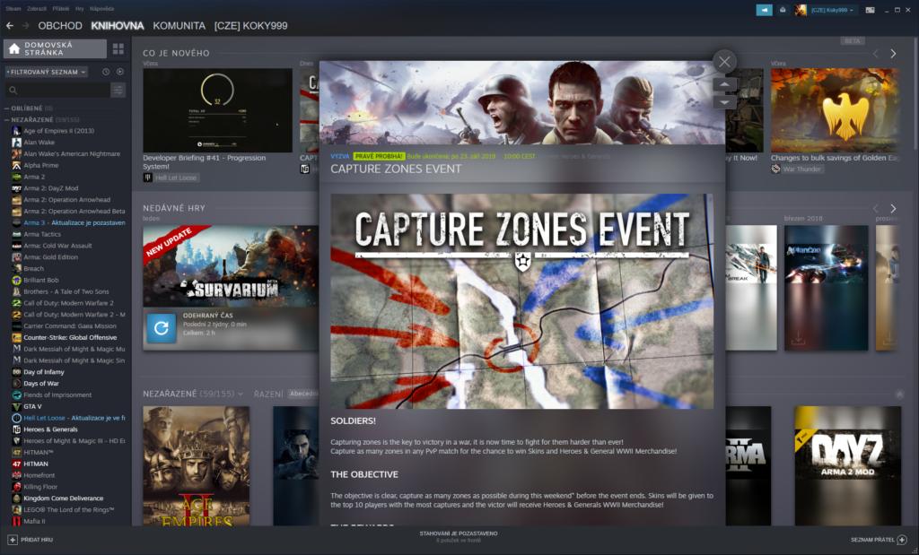 Obrázek: Po 16 letech radikální změna. Steam se dočká nového vzhledu