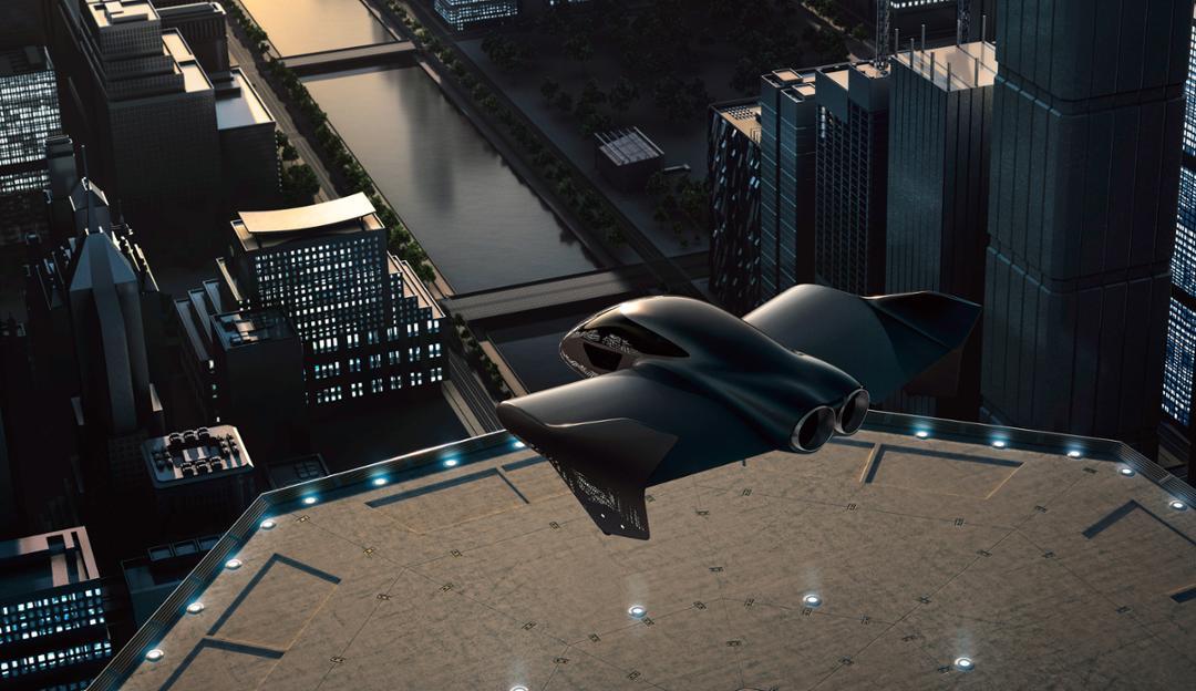 Obrázek: Další elektrické létající taxi. Po Uberu plánuje nový způsob přepravy i Boeing sPorsche