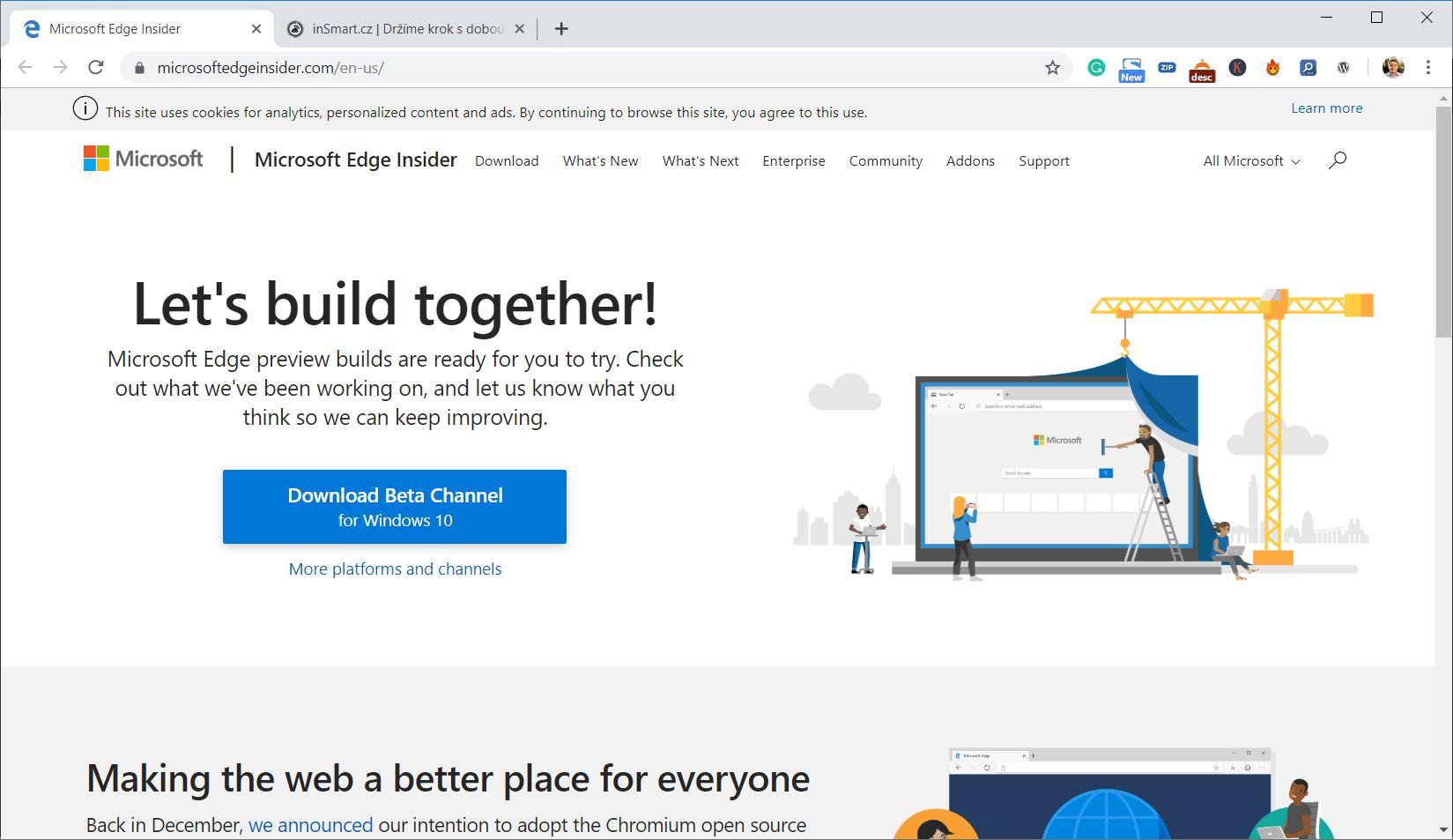Obrázek: Nový prohlížeč ve Windows 10 nejde odinstalovat: Microsoft plánuje zatopit Chromu