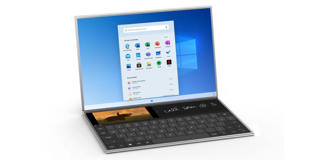 Obrázek: Microsoft Surface Neo: Tablet sWindows a dvěma displeji je realitou