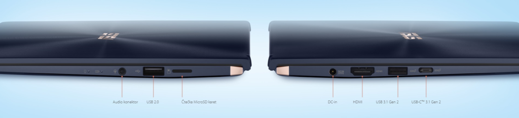 Obrázek: Dotykový displej místo touchpadu? Na Asus ZenBook 14 může fungovat i jako druhý displej