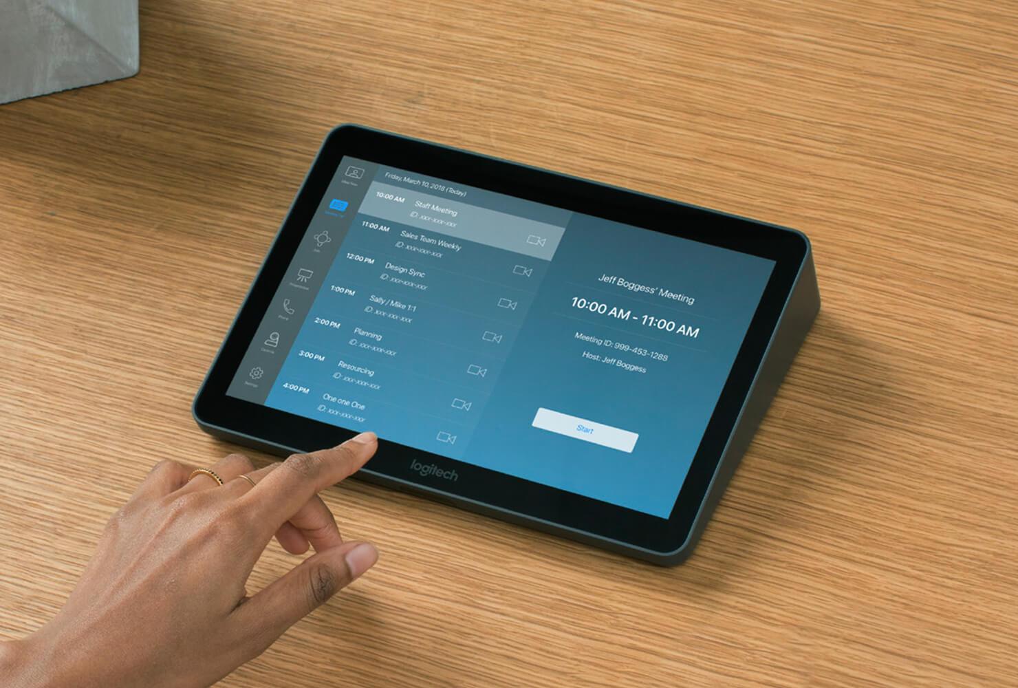 Obrázek: Ajťák už v jednačce nebude potřeba: Logitech elegantně vyřešil složitou obsluhu videokonferenčních místností