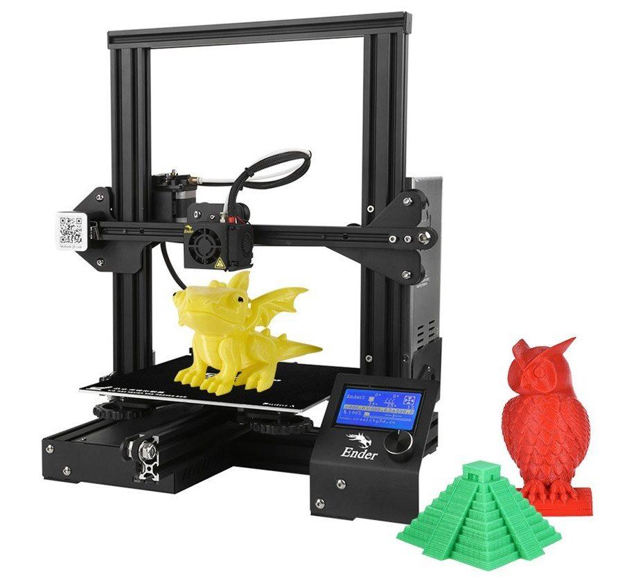 Obrázek: Vytisknout lze prakticky cokoliv: 3D tiskárny už jsou levné, nejprodávanější seženete pod 4 000 Kč