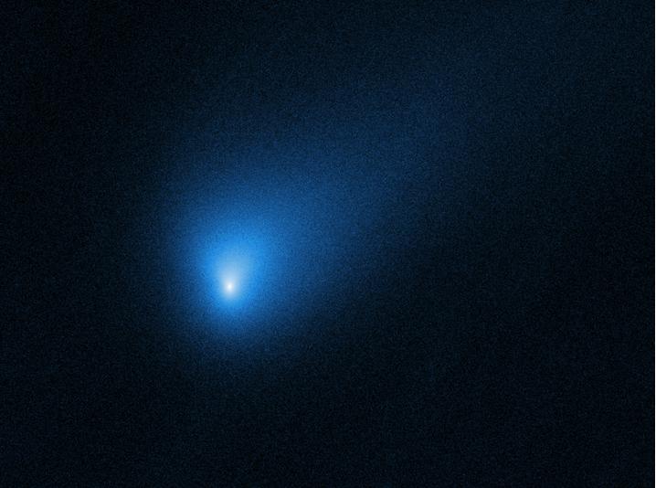 Obrázek: Kilometrová kometa proletí nejblíže Zemi v historii. Nepochází z naší sluneční soustavy
