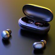 Obrázek: Bezdrátová sluchátka s dotykovým ovládáním váží 4 gramy: Před Vánoci jsou směšně levná