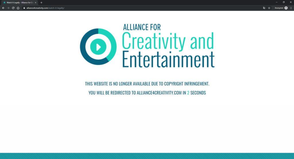Obrázek: Konec sledování seriálů a filmů v prohlížeči zdarma? Po zásahu protipirátské unie nefungují weby v ČR i ve světě