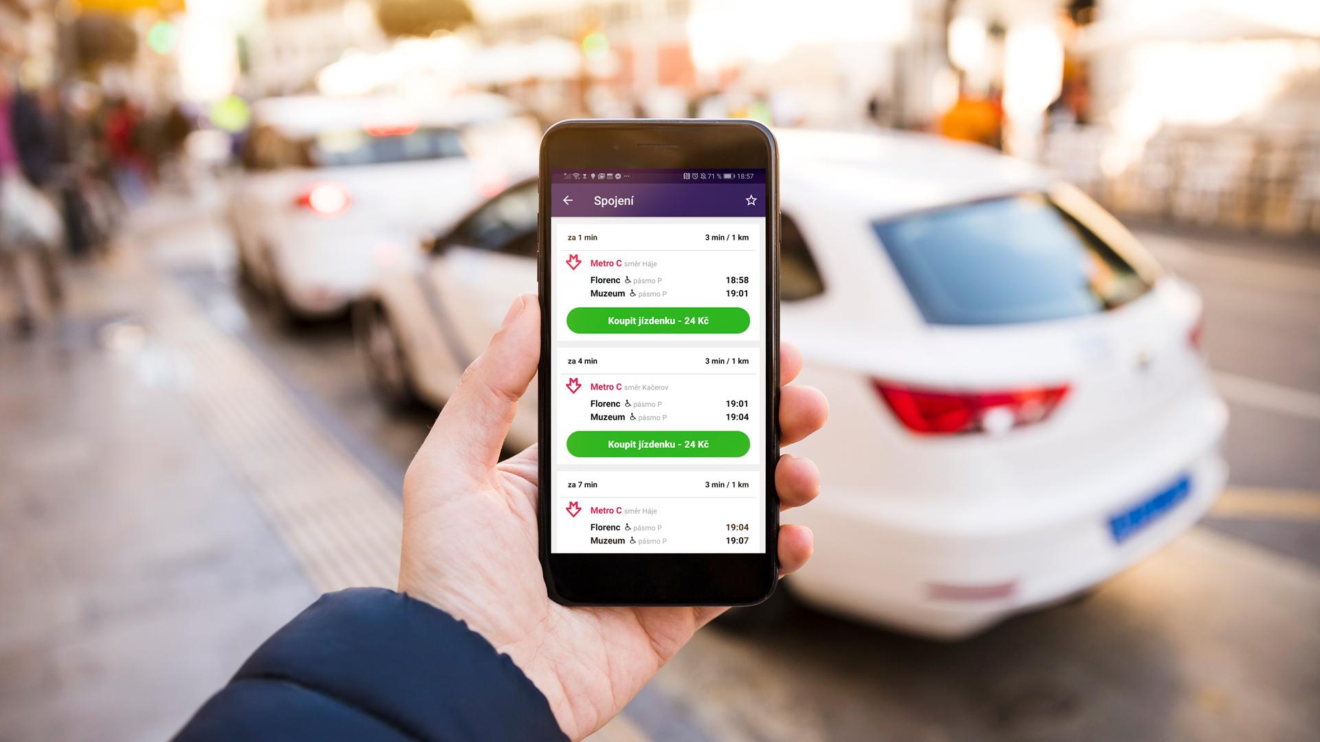 Obrázek: Na revizory nově stačí smartphone s aplikací: Jak nahradit jízdenky a kupony aplikací Lítačka?
