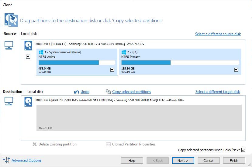 Jak přesunout Windows 10 na SSD