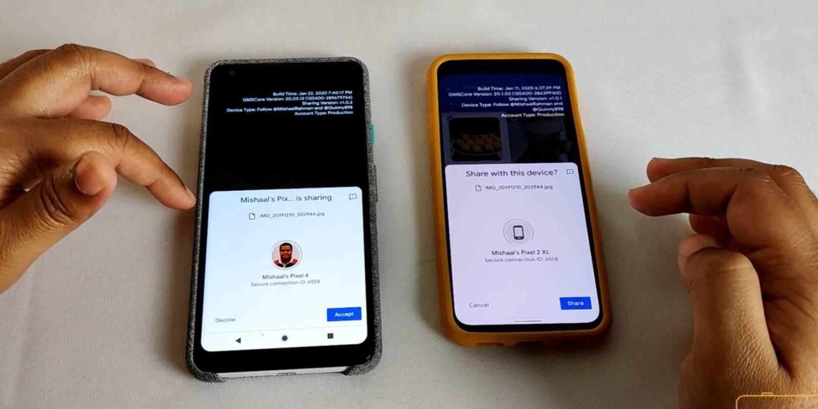 Obrázek: Google okopíroval Apple AirDrop: Mobily s Androidem se naučí rychle sdílet soubory přes Wi-Fi