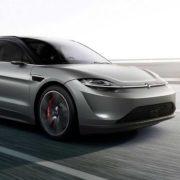 Obrázek: Sony automobilkou: Model Vision-S vypadá jako Tesla a zvládne 240 km/h