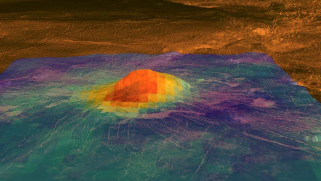 Obrázek: Na Venuši jsou aktivní sopky, se Zemí má mnoho společného