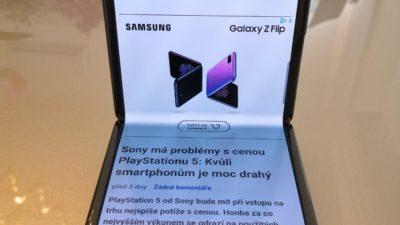 Obrázek: Test: Samsung Galaxy ZFlip může nastartovat novou éru smartphonů
