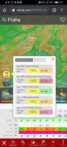 Obrázek: Nejlepší aplikace pro sledování předpovědi počasí a rychlosti větru online? Zkuste Windy