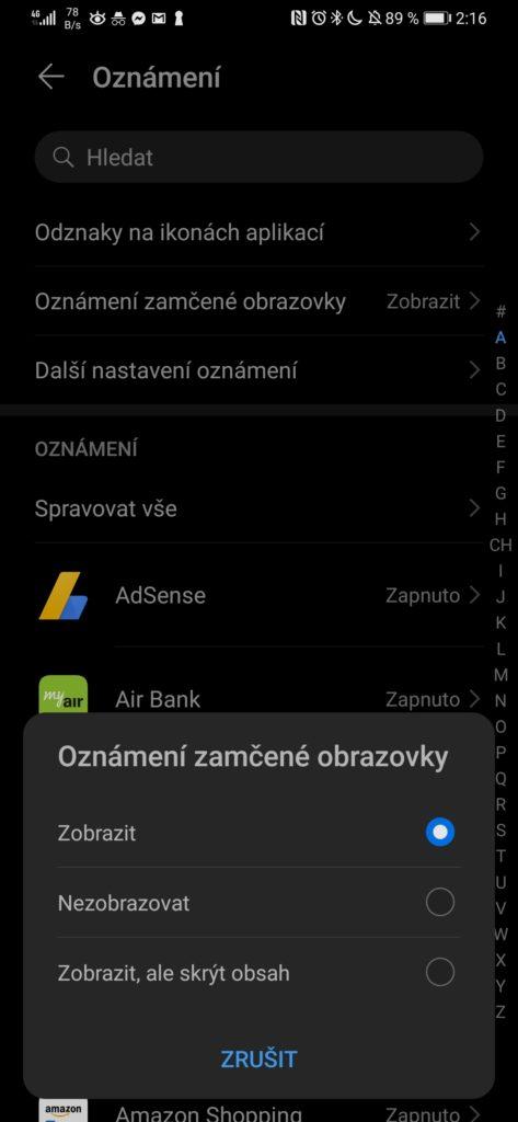 Obrázek: Nenechte se šmírovat: Jak skrýt obsah upozornění na zamykací obrazovce mobilu?
