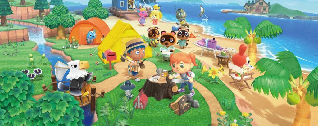 Obrázek: Hra Animal Crossing: New Horizons reaguje na počasí v místě kde hrajete
