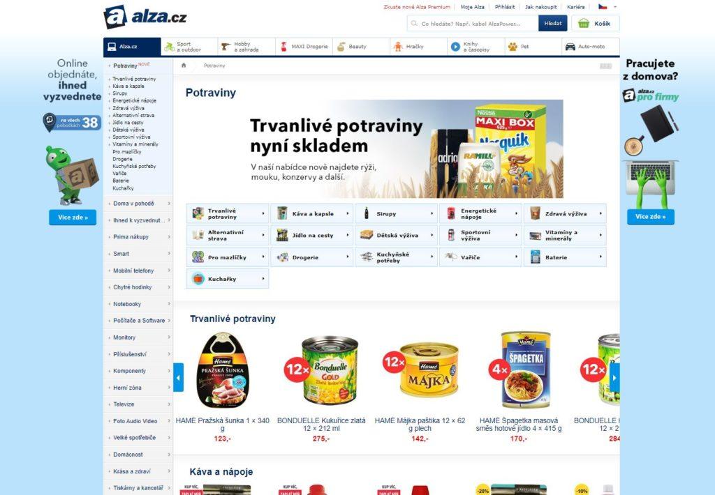 Obrázek: Alza překvapila a reaguje na krizi: Největší e-shop začal rozvážet potraviny po celé ČR