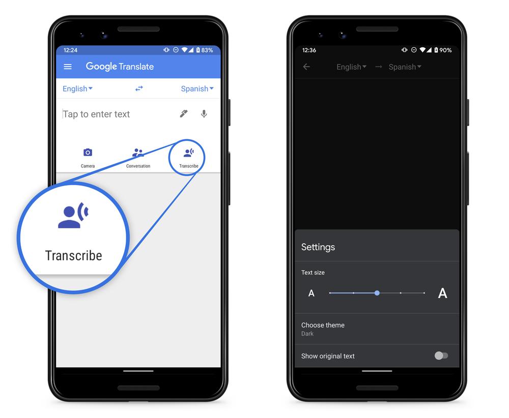 Obrázek: Google přichází s funkcí překladu v reálném čase