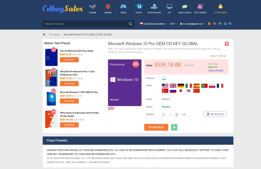 Obrázek: Slevy na software pro práci z domova: Office 365 za 400 Kč a Windows 10 Pro ještě levněji