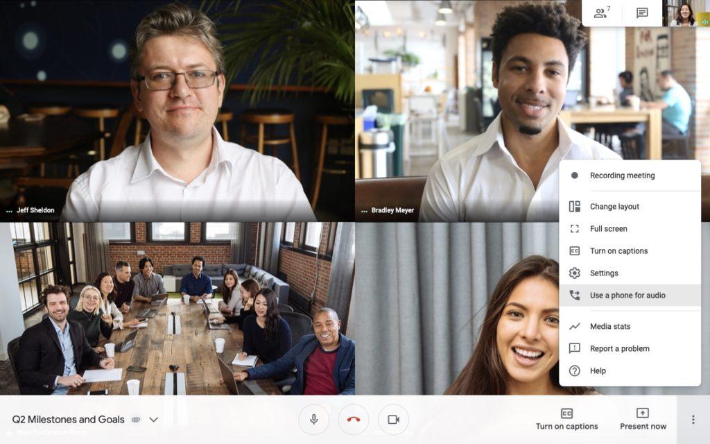 Obrázek: Bezplatná aplikace pro videokonference: Povedený Google Meet je nyní zdarma pro každého