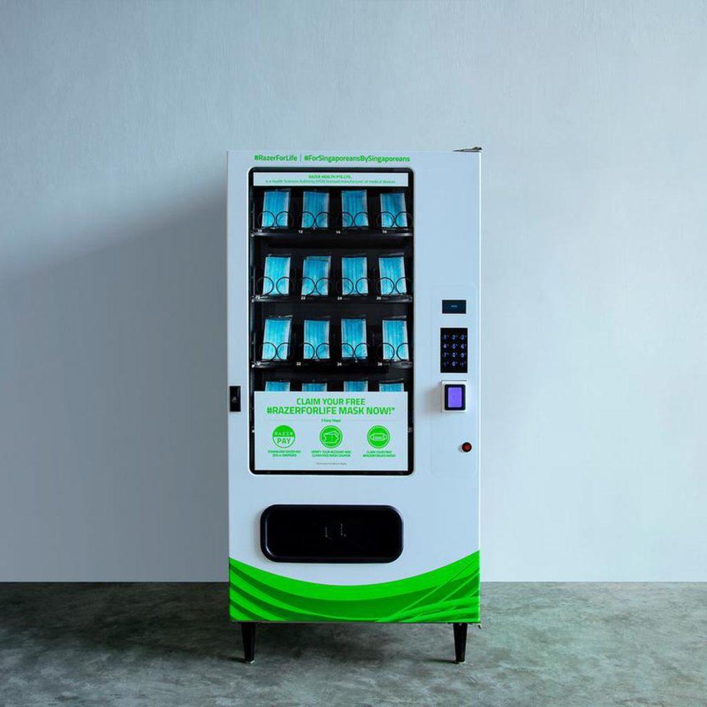 Automat na roušky od Razeru
