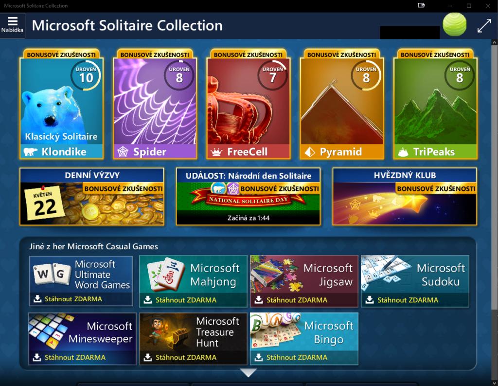 Obrázek: Microsoft Solitaire slaví 30 let: Měsíčně ho stále hraje 35 milionů lidí